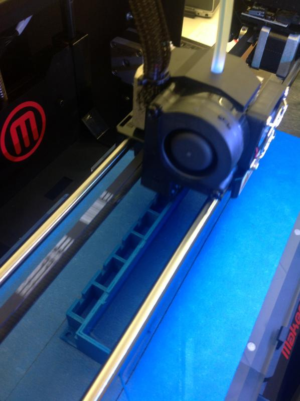 Makerbot 2 printing Marantz Housing