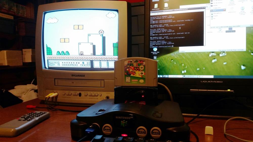 Super Mario Bros 3 on the N64