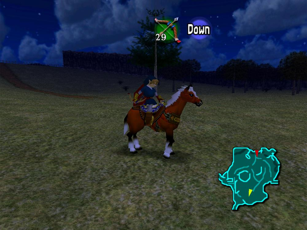 Zelda Ocarina of Time with high resolution texture pack